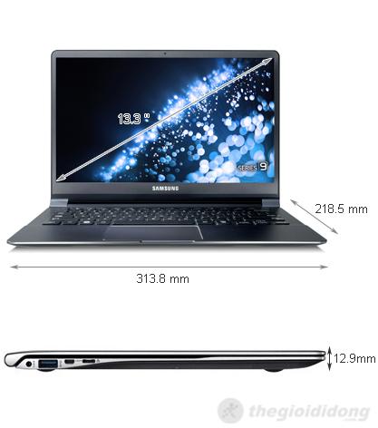 Ảnh kích thước Samsung series 9 900X3C 73514G256W8P