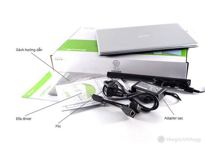 Bộ bán hàng chuẩn của laptop Acer Aspire V5 471 33214G50Mass