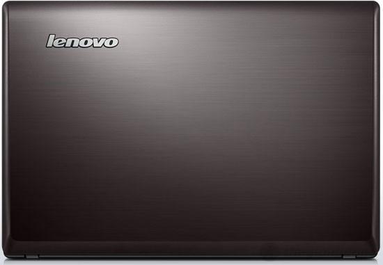 Nắp máy bằng nhựa kiểu nhôm xước của Lenovo G480