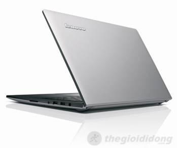 Nhìn từ bên ngoài, lớp vỏ của S400  cũng tương tự như lớp vỏ nhôm của Ultrabook