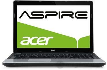 Aspire E1 571G được trang bị màn hình lớn 15.6 inch