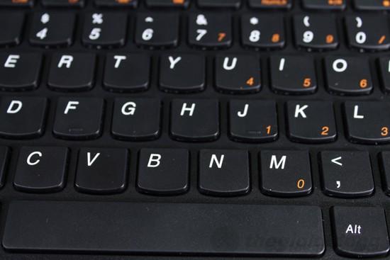 Lenovo G480B962G32 có bàn phím tốt
