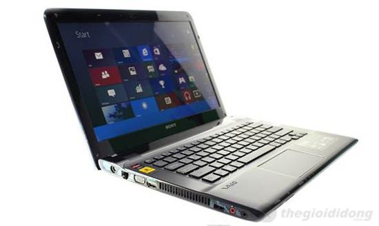 Sony Vaio SVE14132CV chạy trên hệ điều hành Windows 8