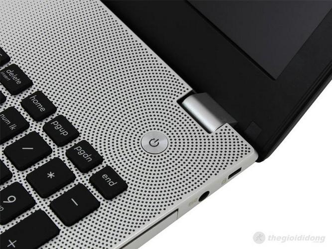 Asus N56VZ với thiết kế vân sóng sáng tạo