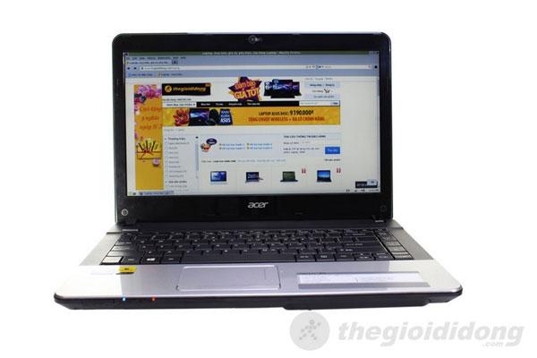 Acer Aspire E1 431 – Laptop giá rẻ cùng hệ điều hành mở dành cho sinh viên