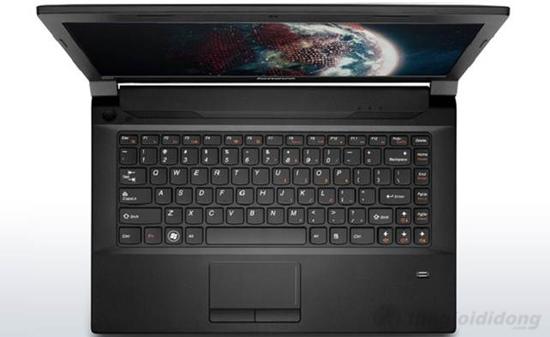 Bàn phím AccuType được tích hợp trên Lenovo B490 10002G32