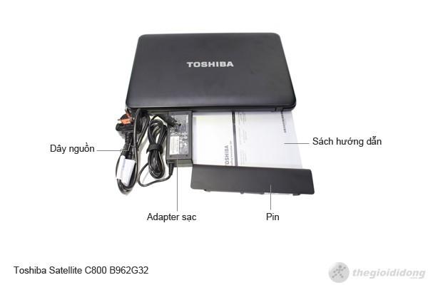 Bộ bán hàng chuẩn của Toshiba Satellite C800 B962G32