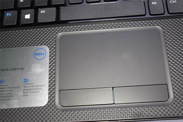 Touchpad của Dell Inspiron 3521 nhạy