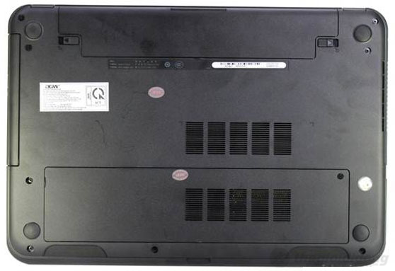 Dell Inspiron 3521 2372G50 sử dụng pin Lithium-ion 4 cell