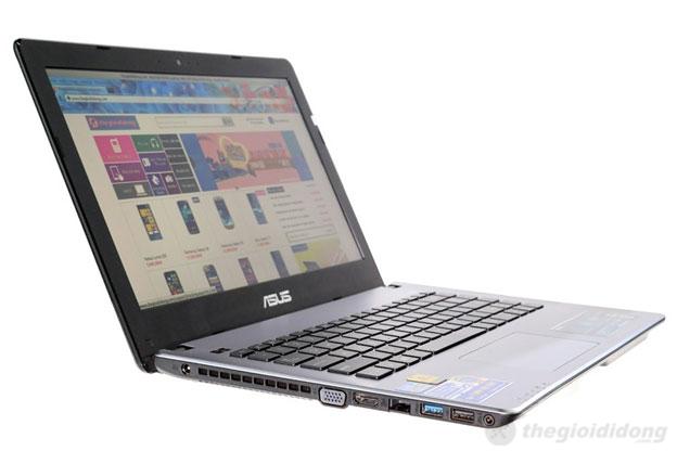 Asus X450CA cho chất lượng hiển thị tốt
