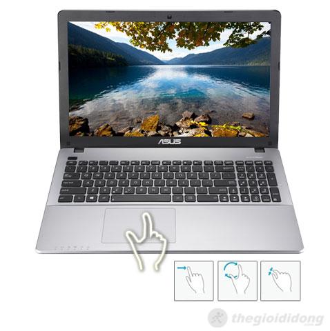 Asus X550CC touchpad và bàn phím tốt