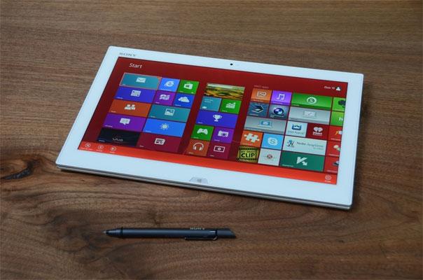 Sony Vaio Duo 13 cho hình ảnh sắc nét với công nghệ hiển thị mới