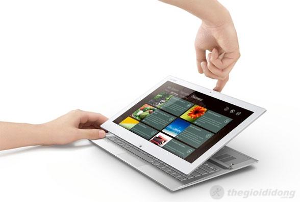Sony Vaio Duo 13 được trang bị nhiều công nghệ âm thanh tiên tiến