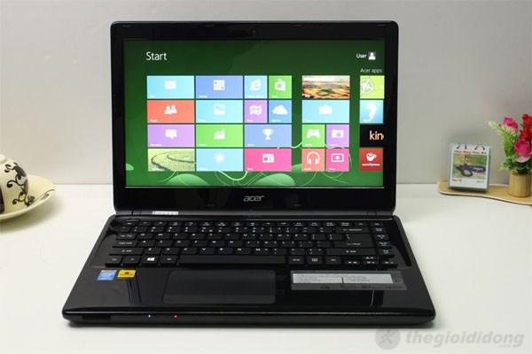 Acer Aspire E1-470 với sức mạnh xử lý tuyệt vời