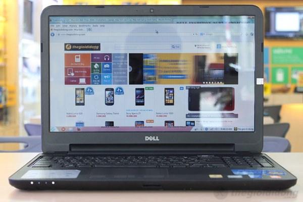 Màu sắc chính xác, sắc nét trên màn hình rộng Dell Inspiron 3537