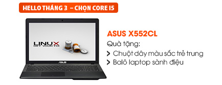 Laptop Asus X552CL i5-3337U/4G/500G
