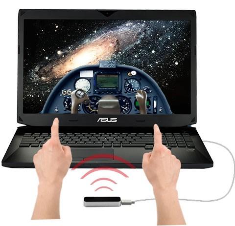 Asus G750JW công nghệ Leap Motion