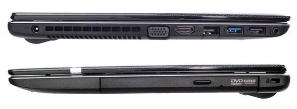 Asus X450CA vga, hdmi, lan, usb 3.0, usb 2.0, dvd