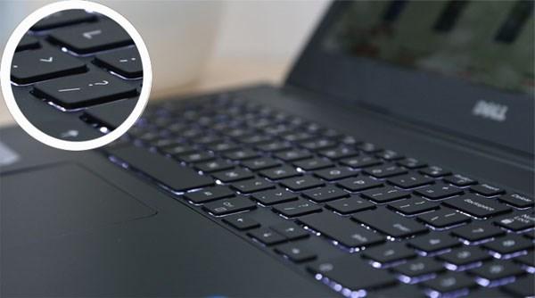 Dell Inspiron 15 5547 backlit chiclet keyboard