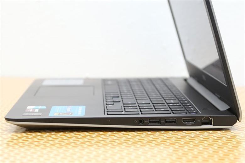 Dell Inspiron 5547 được trang bị đầy đủ các cổng kết nối