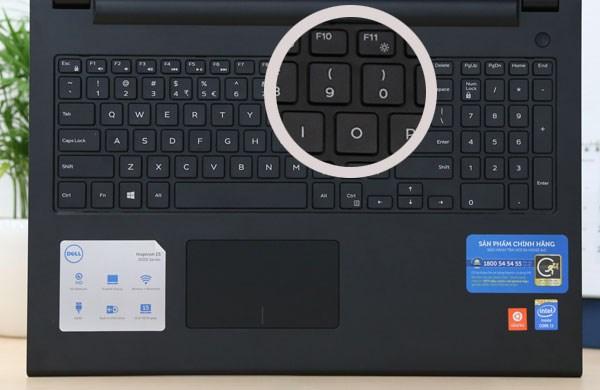 Dell Inspiron 15 3542 bàn phím chiclet full size
