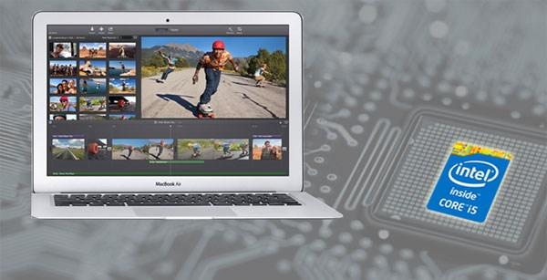 Apple Macbook Air 11 inch 2014 intel core i5 haswell, intel hd graphics 5000