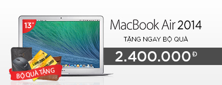 Apple Macbook Air 2014 MD761ZP/B