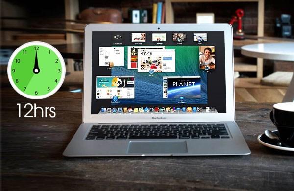 Apple Macbook Air 13inch 2014 thời lượng pin đến 12 giờ