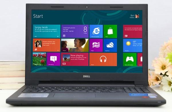 Dell Inspiron 15 3542 laptop windows 8