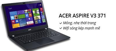 Laptop Acer Aspire V3 371 i3 4030U/4G/500