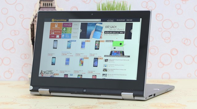 Laptop Dell Inspiron 3148 i3 4030U - Thiết kế 2 trong 1