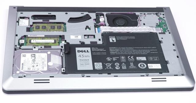 Dell Inspiron 5547 có hiệu năng tốt nhờ sử dụng bộ VXL mới