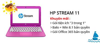 Laptop HP Stream 11-d001TU N2840/2GB/32GB/Win8.1/Office365