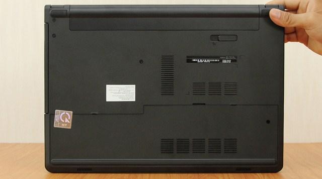 Công nghệ âm thanh 2.0 MaxxAudio được thiết kế phía dưới thân máy và hướng về phía trước