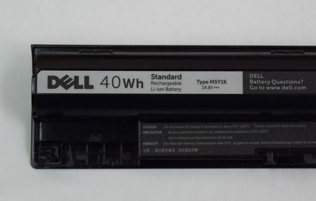 Pin 4 cell tiêu chuẩn, không quá cao nhưng tiện dụng nhờ có thể tháo rời