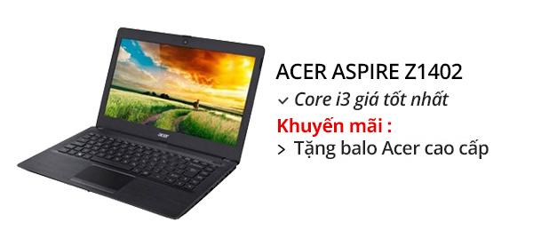Laptop Acer Aspire Z1402 30BA i3 5005U/4GB/500GB/Win10