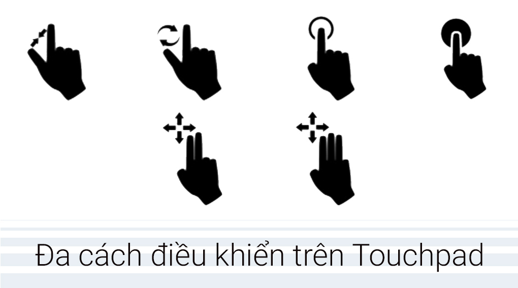 Touchpad điều khiển thông minh