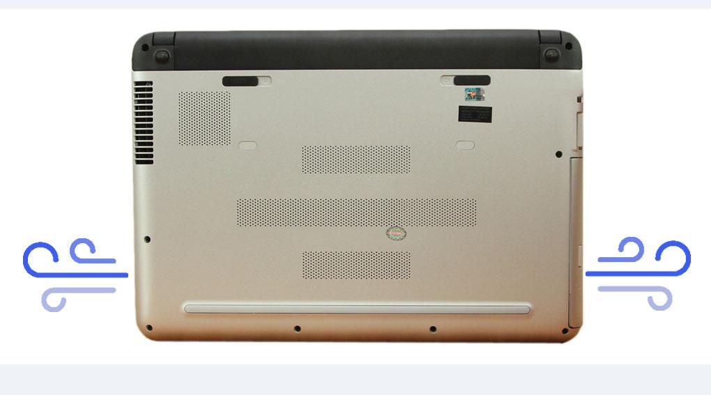 Công nghệ tản nhiệt HP CoolSense