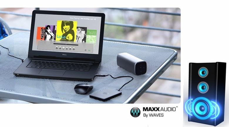 Công nghệ MaxxAudio cho trải nghiệm âm thanh tuyệt vời