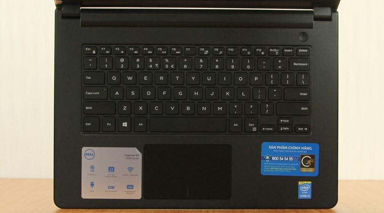 Các phím có độ nảy tốt giúp thao tác nhanh, chính xác hơn