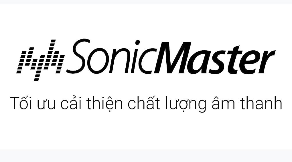 Công nghệ âm thanh độc quyền Sonicmaster