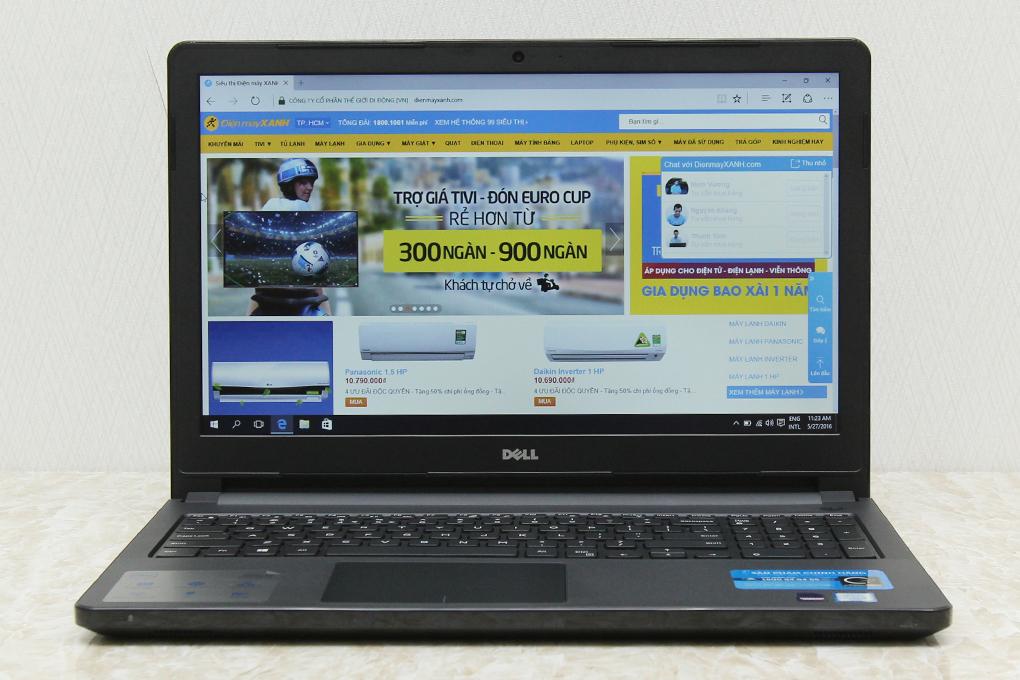 Laptop Dell Vostro 3559 i5 6200U/4GB/500GB/2GB M315/Win10 hình 2