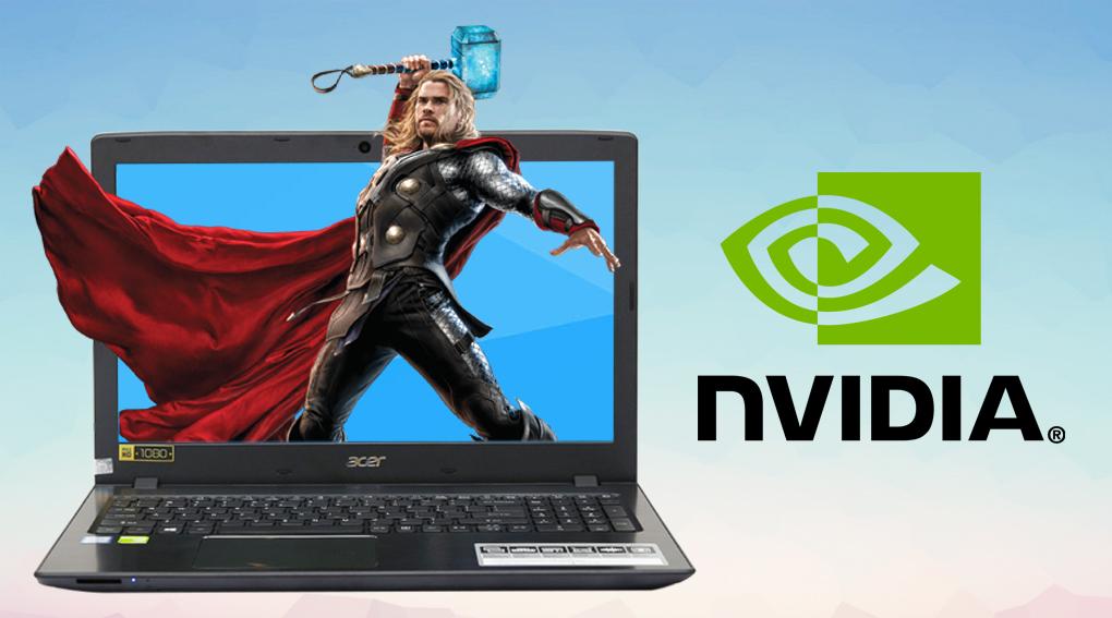 Nâng cao trải nghiệm hình ảnh với card đồ họa rời NVIDIA® GeForce® 940M