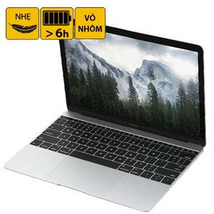 Laptop Apple Macbook 12 inches MLH72 Core M 1.1G/8GB/256GB/MacOS (2016)