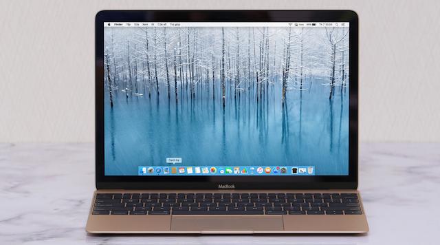 Hệ điều hành MacOS có khả năng tối ưu hóa tốt, môi trường tối ưu để bạn làm việc và giải trí
