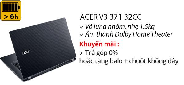 Laptop Acer V3 371 32CC i3 5005U/4GB/500GB/Win10