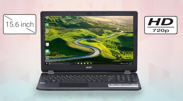 Acer ES1 531 N3710 -  Ưu điểm lớn với màn hình rộng rãi 15.6 inch