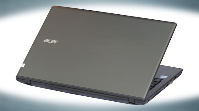 Thiết kế của máy Acer Aspire E5 575 320A i3
