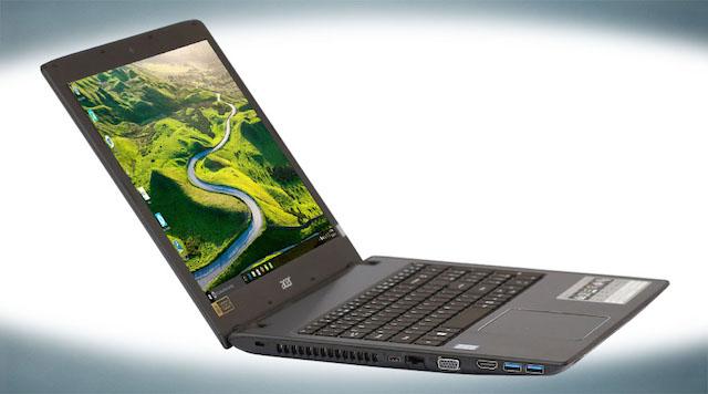 Acer Aspire E5 575 320A i3 - 2 cạnh bên