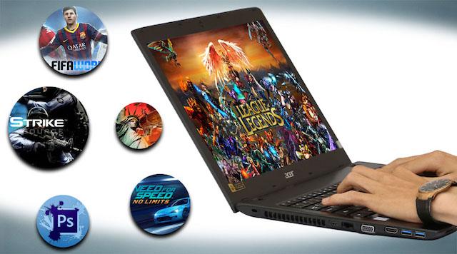 Acer Aspire E5 575 320A i3 - Cấu hình với chip thế hệ thứ 6